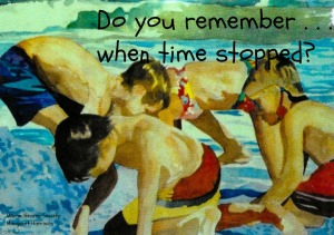 Do you remember when time stopped