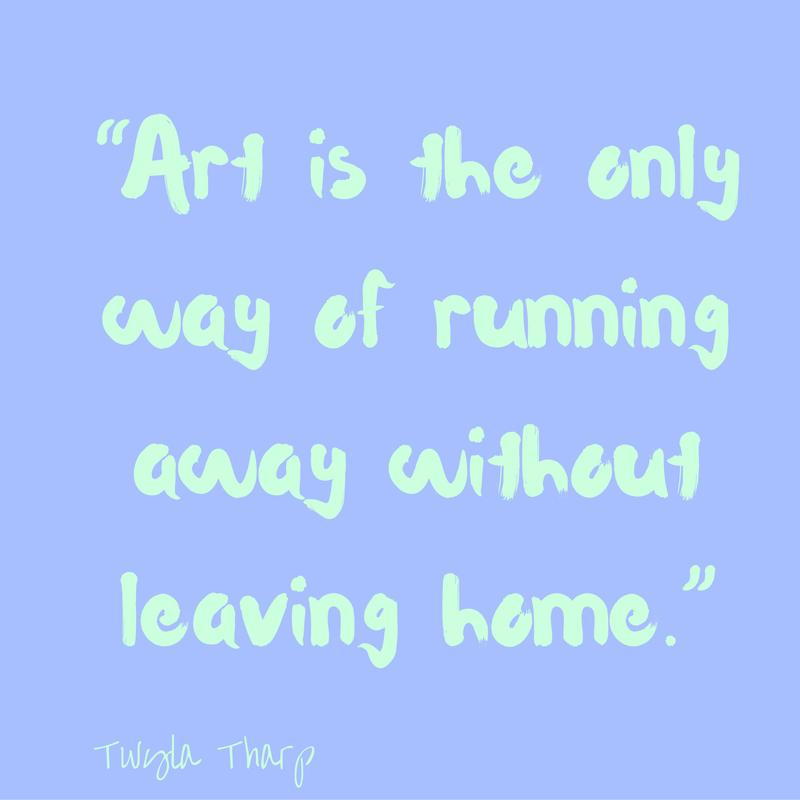 art-is-running-away