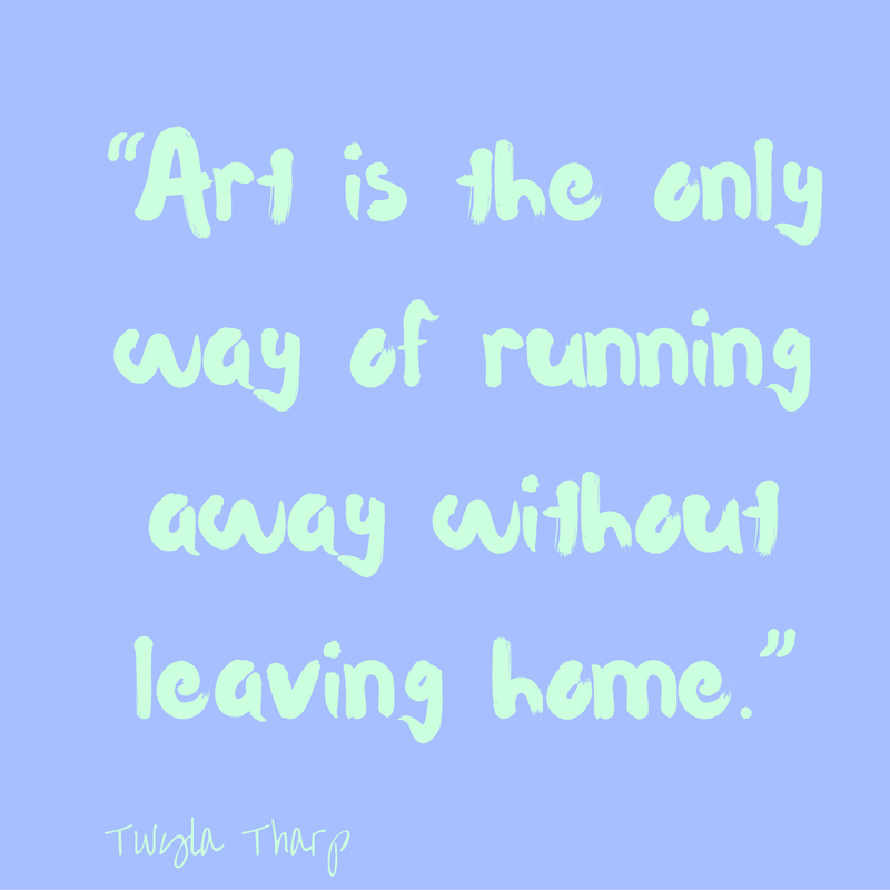 art-is-running-away